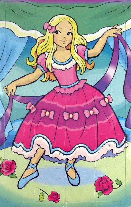 Иллюстрация 1 из 12 для Мягкие пазлы. Маленькая балерина (2178)   Лабиринт - игрушки. Источник: Лабиринт