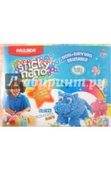 Пластилин шариковый 4 цвета (082014)