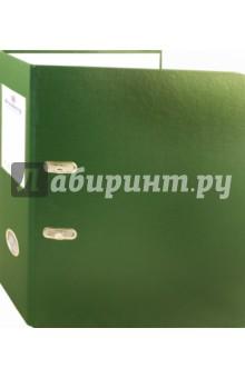 Папка-регистратор, зеленая (221818)Папки-регистраторы<br>Папки-регистраторы BRAUBERG изготовлены из высококачественного картона, покрытого цветным пластиком. Служат в 2 раза дольше по сравнению с обычными картонными папками.<br>- Для бумаг формата А4.<br>- Цвет папки - зеленый.<br>- Ширина корешка - 70 мм.<br>- Долговечный арочный механизм.<br>- Износоустойчивое ПВХ-покрытие.<br>- Прозрачный карман на корешке для сменной бумажной этикетки.<br>- Допустима влажная обработка.<br>- Увеличенный срок службы.<br>Сделано в России.<br>