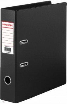 Папка-регистратор Comfort 70мм черная (222649) Brauberg