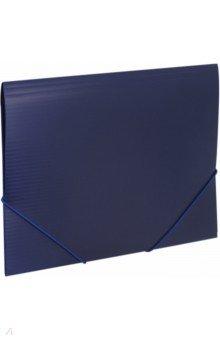 Папка на резинках. Синяя (221797)