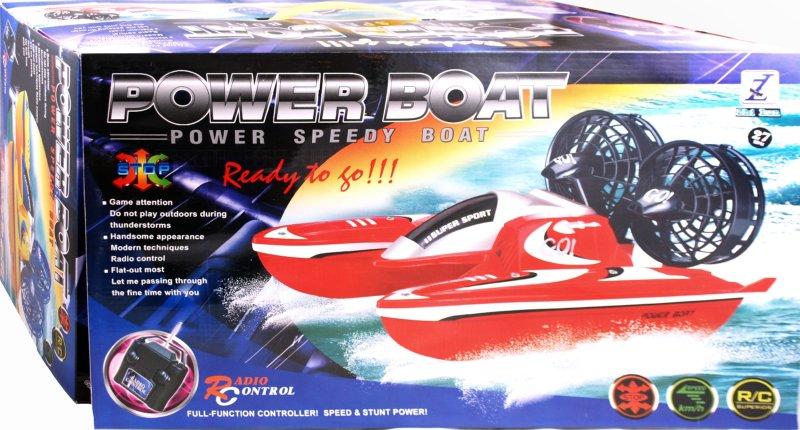 Иллюстрация 1 из 2 для Лодка радиоуправляемая, с зарядным устройством (6652)   Лабиринт - игрушки. Источник: Лабиринт