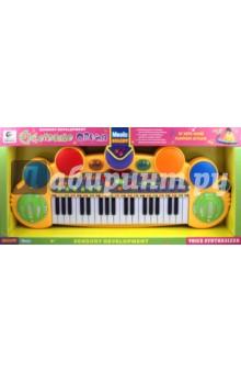 Пианино с микрофоном на батарейках (ВВ45-А)
