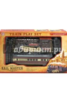 Железная дорога со звуком, светом и дымом (00821PY)