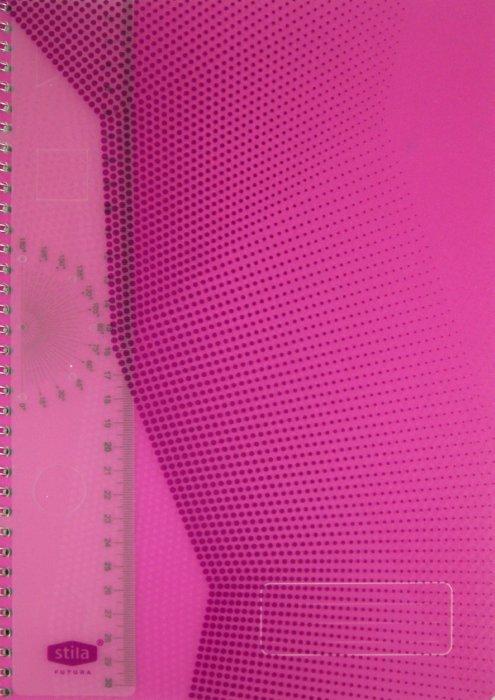 """Иллюстрация 1 из 6 для Тетрадь """"Stila Futura"""" 96 листов, А4, клетка, фиолетовая (198472)   Лабиринт - канцтовы. Источник: Лабиринт"""