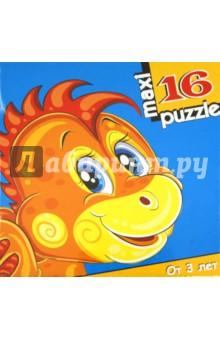 Развивающая мозаика Дракончик (2188)Пазлы (Maxi)<br>Крупные и яркие детали мозаики привлекут внимание даже самых маленьких детей. Собирая картинку из 16 частей, малыш учиться соотносись отдельные элементы и целое изображение, подбирать фрагменты по цвету и форме. Игра развивает наблюдательность, усидчивость, зрительное восприятие. Постоянно манипулируя деталями мозаики, ребенок совершенствует мелкую моторику рук, что по заключениям психологов, напрямую влияет на развитие речи и интеллектуальных способностей.<br>Размер собираемой картинки 31х33 см.<br>Для детей от 3-х лет.<br>Количество элементов: 16.<br>Срок службы 10 лет.<br>Изготовлено в России.<br>