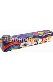 Мягкая игровая паста для моделирования 5 х 110гр. (405)Лепим из пасты<br>Мягкая игровая паста для моделирования.<br>В набор входит 5 контейнеров с пастой по 110 гр. разных цветов( желтая, синяя, красная, зеленая, фиолетовая).<br>Специально для слабых детских рук.<br>Легко разминается, смешивается для получения новых оттенков. <br>Развивает моторику, цветовосприятие.<br>Для детей от 0 лет.<br>Сделано в Испании.<br>