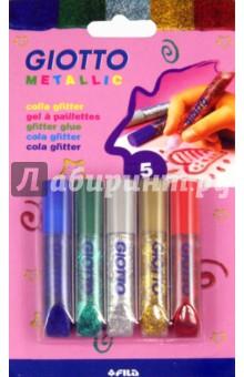 Клей для декорирования цветной с металлическим эффектом Giotto Metallic (544100)