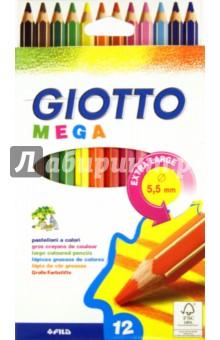 Карандаши цветные: 12 цветов. Утолщенные гексагональной формы (225600)Цветные карандаши 12 цветов (9—14)<br>Набор цветных карандашей большого формата<br>Количество штук в упаковке: 12.<br>Количество цветов: 12.<br>Толщина грифеля 5, 5 мм<br>Заточенные<br>Суперпрочный грифель<br>Легко затачиваются<br>Сделано в Китае.<br>