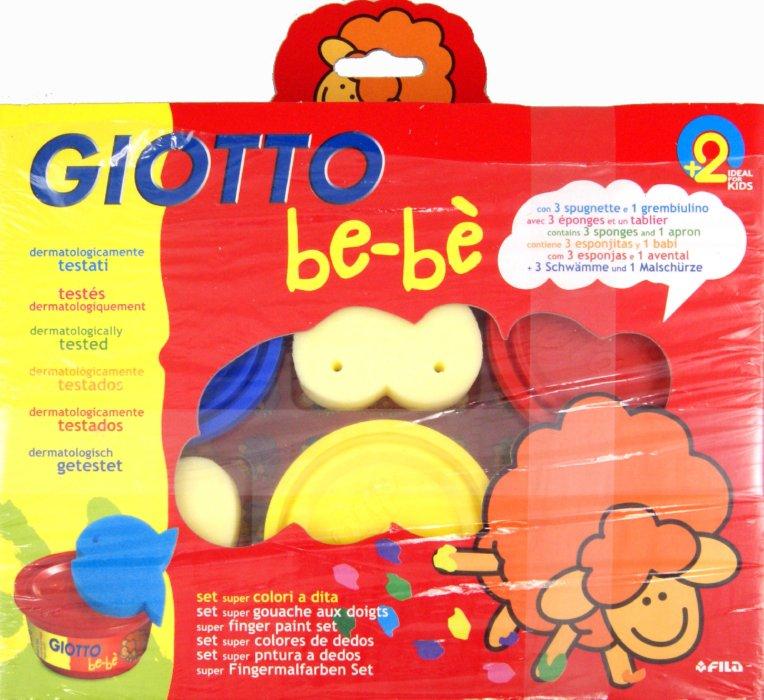 Иллюстрация 1 из 6 для Набор для рисования руками: пальчиковая  краска , губки , фартук BE-BE (460700) | Лабиринт - игрушки. Источник: Лабиринт