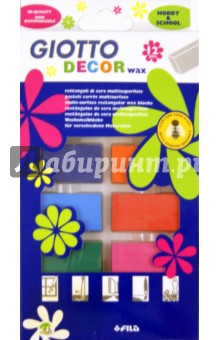 Мел восковой для декорирования: 12 цветов (442000)