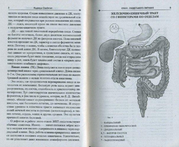Иллюстрация 1 из 21 для Кухня раздельного питания - Надежда Семенова | Лабиринт - книги. Источник: Лабиринт