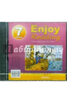 Enjoy Reading-7 (CDmp3)Английский язык (5-9 классы)<br>MP-3 диск к учебному пособию Enjoy Reading-7, в котором представлены произведения Джонатана Свифта Путешествие Гулливера в Бробдингнег, Джека Лондона Зов предков, Артура Конан Дойла Знак четырех, Чарльза Диккенса Битва жизни.<br>
