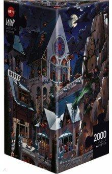 Puzzle-2000 Замок ужаса Loup (26127)Пазлы (2000 элементов и более)<br>Пазл-мозаика. <br>Состоит из 2000 элементов.<br>Размер картинки: 69х97 см<br>Не давать детям до 3-х лет из-за наличия мелких деталей.<br>Материал: картон<br>Упаковка: картонная коробка.<br>Сделано в Чехии.<br>