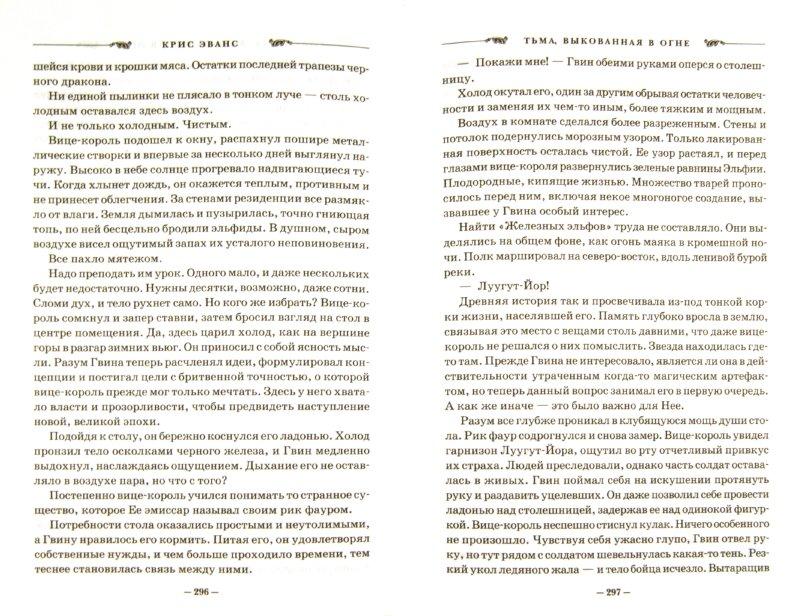 Иллюстрация 1 из 21 для Хроники железных эльфов. Книга 1. Тьма, выкованная в огне - Крис Эванс | Лабиринт - книги. Источник: Лабиринт