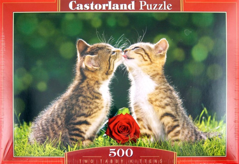Иллюстрация 1 из 8 для Puzzle-500. Два котенка (B-51625) | Лабиринт - игрушки. Источник: Лабиринт