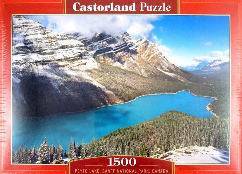 Иллюстрация 1 из 3 для Puzzle-1500. Озеро, Канада (C-150922) | Лабиринт - игрушки. Источник: Лабиринт