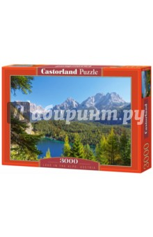 Озеро в Альпах, Австрия, 3000 деталей (C-300242-М)