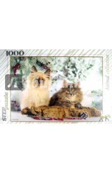 """Step Puzzle-1000 """"Кошки"""" (79089)"""