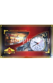 """Квартальный календарь """"Ретро"""" с часами 2012 год"""