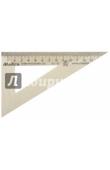Треугольник 30°/160 мм деревянный (С139) МД НП Красная звезда