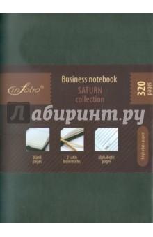 "Бизнес-тетрадь In Folio ""Saturn"" (grey) (1037)"