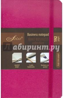 "Бизнес-блокнот In Folio ""Euro business"" (fuchsia) (1003)"