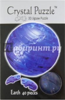 Головоломка ПЛАНЕТА ЗЕМЛЯ голубая (90110)