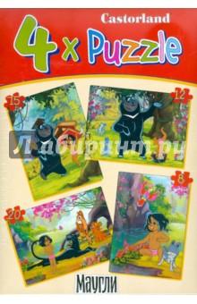 "Puzzle ""Маугли"" (8х12х15х20 деталей) (B-PU04060)"
