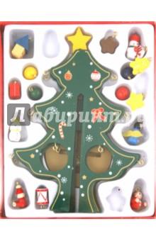 """Украшение новогоднее деревянное """"Новогодняя елка"""" (17296)"""
