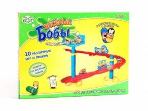"""Иллюстрация 1 из 2 для Игра """"Веселые бобы"""" с трассой (ER80009R)   Лабиринт - игрушки. Источник: Лабиринт"""