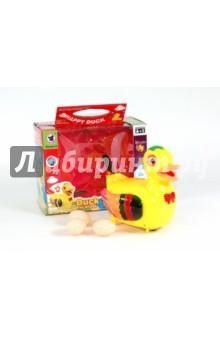 Утка с яйцами на батарейках в коробке (20218)