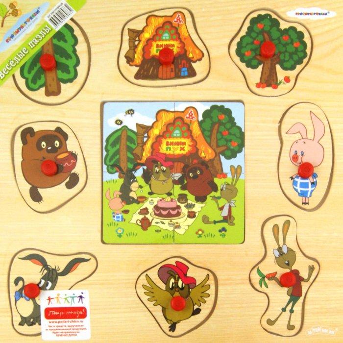 Иллюстрация 1 из 7 для Пазл  Винни-Пух (GT5321) | Лабиринт - игрушки. Источник: Лабиринт
