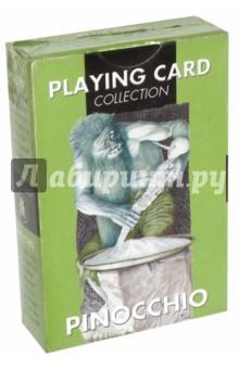 Игральные карты ПиноккиоГадания. Карты Таро<br>Игральные карты Пиноккио.<br>Размер карт: 58 х 88 мм<br>Количество карт в колоде: 54.<br>Упаковка картонная + целлофан<br>Производитель: Lo Scarabeo, Италия.<br>