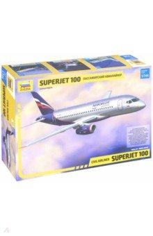 Региональный пассажирский авиалайнер Суперджет 100 (7009) Звезда