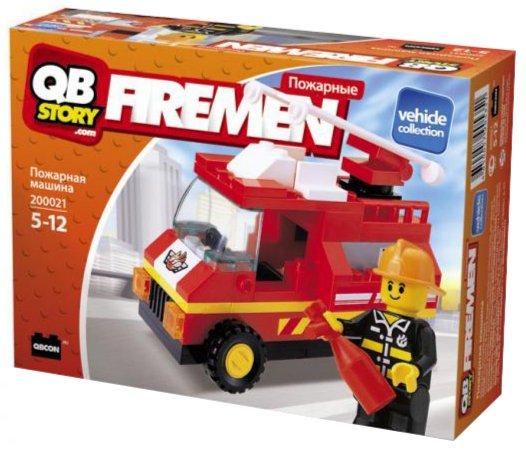 """Иллюстрация 1 из 3 для Набор для конструирования """"Пожарная машина"""" (200021)   Лабиринт - игрушки. Источник: Лабиринт"""
