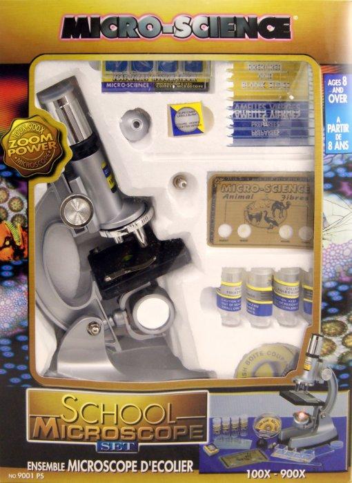 Иллюстрация 1 из 12 для Микроскоп для школы (9001PS) | Лабиринт - игрушки. Источник: Лабиринт