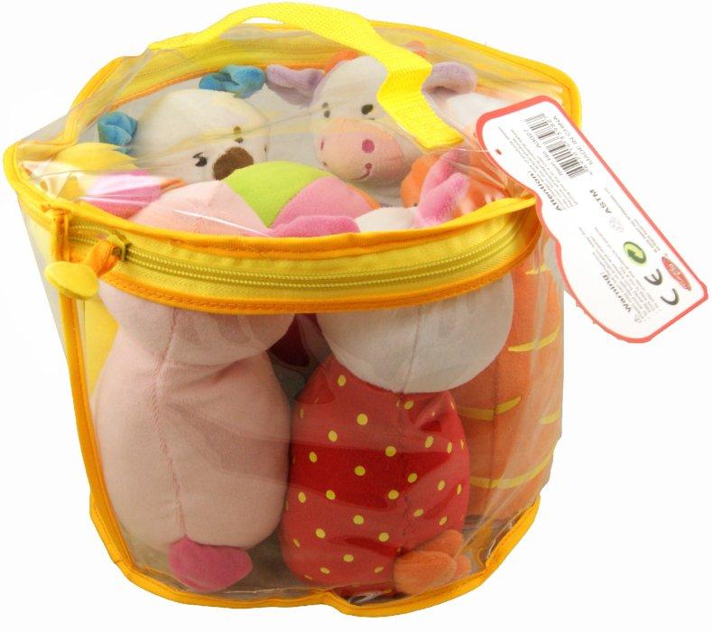 Иллюстрация 1 из 6 для Боулинг мягкий для малышей (6 мягких кеглей) (A3027) | Лабиринт - игрушки. Источник: Лабиринт