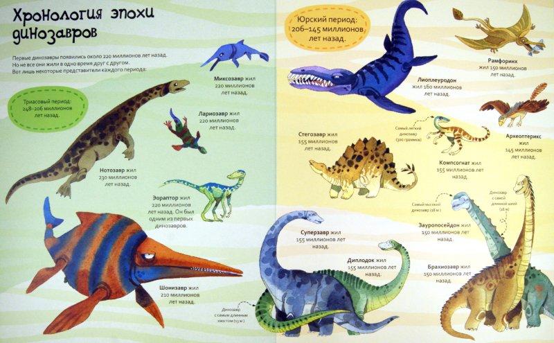 Иллюстрация 1 из 20 для Большая книга о больших динозаврах. Для детей от 4 лет | Лабиринт - книги. Источник: Лабиринт