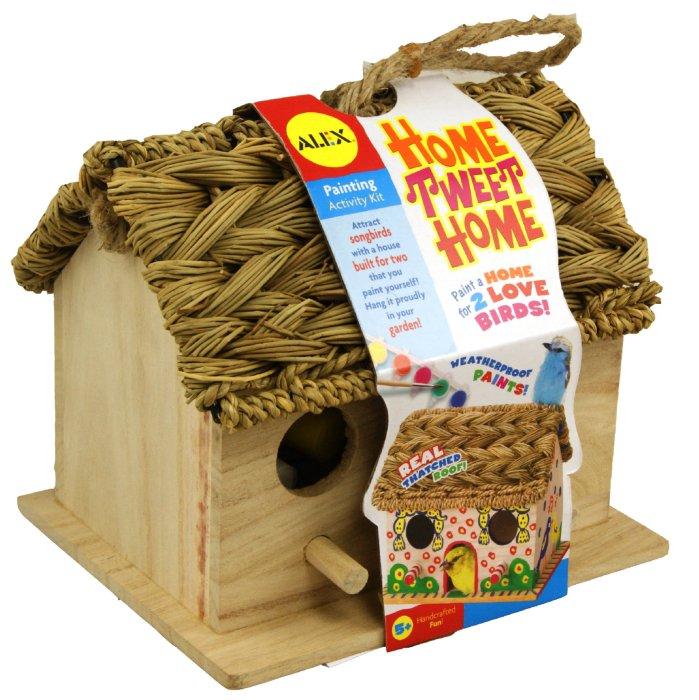 """Иллюстрация 1 из 8 для Птичий домик для раскрашивания """"Дом, милый дом"""" (663W)   Лабиринт - игрушки. Источник: Лабиринт"""