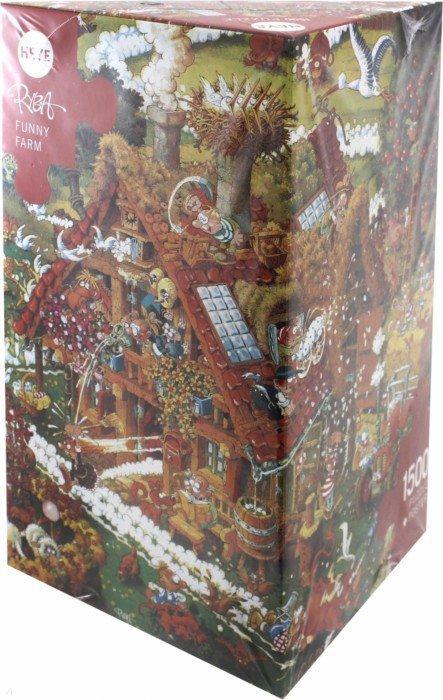 """Иллюстрация 1 из 20 для Puzzle-1500 """"Забавная ферма"""", Ryba (8832)   Лабиринт - игрушки. Источник: Лабиринт"""