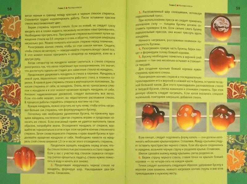 Иллюстрация 1 из 13 для Лэмпворк. Украшения из стекла - Букин, Букина   Лабиринт - книги. Источник: Лабиринт