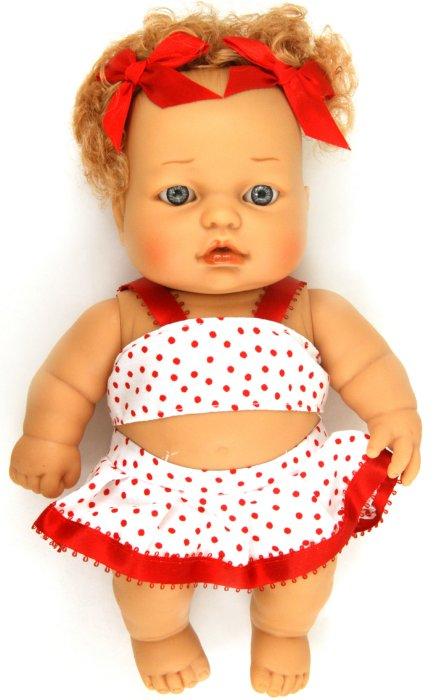 Иллюстрация 1 из 9 для Бетти с красными бантиками, 25 см (в пакете) (2174-12) | Лабиринт - игрушки. Источник: Лабиринт