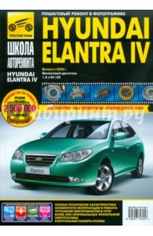 Hyundai Elantra IV выпуск с 2006 г. Руководство по эксплуатации, техническому обслуживанию и ремонту