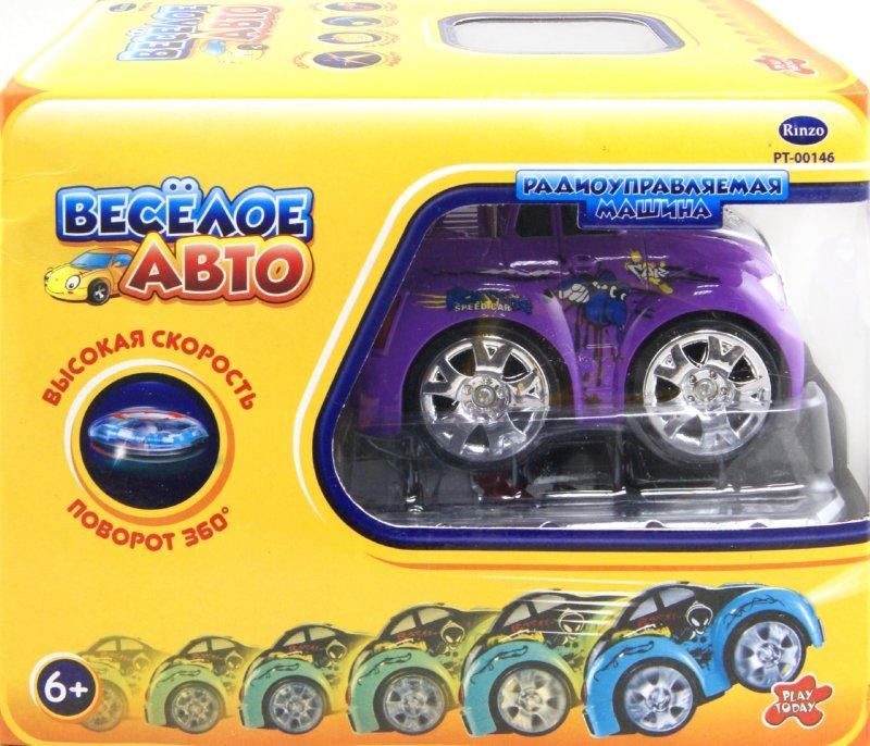 Иллюстрация 1 из 2 для Веселое авто Машина радиоуправляемая (РТ-00146) | Лабиринт - игрушки. Источник: Лабиринт