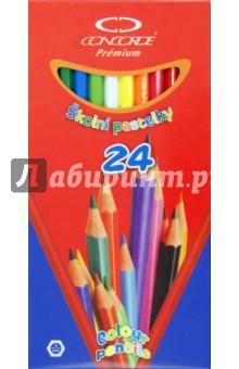 """Карандаши 24 цвета """"Premium"""" (A1022)"""