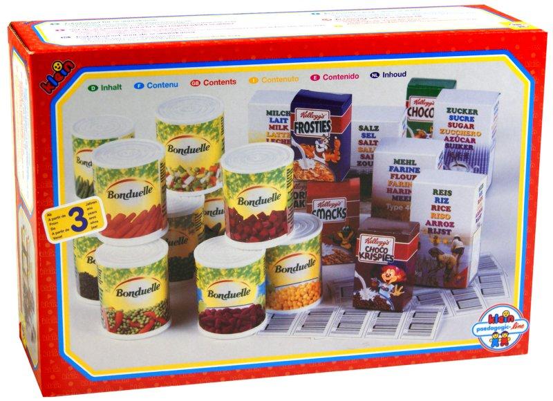 Иллюстрация 1 из 7 для Набор продуктов со штрих-кодами (9344) | Лабиринт - игрушки. Источник: Лабиринт