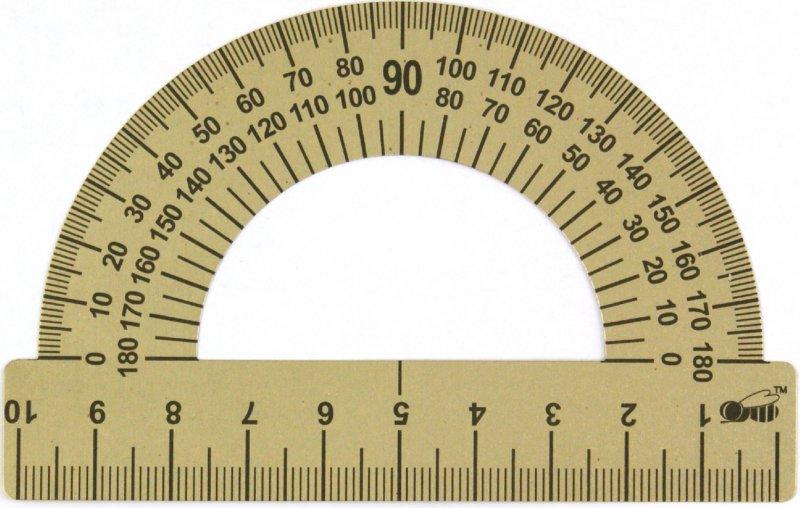 Иллюстрация 1 из 4 для Транспортир стальной 10 см (ТС-10) | Лабиринт - канцтовы. Источник: Лабиринт