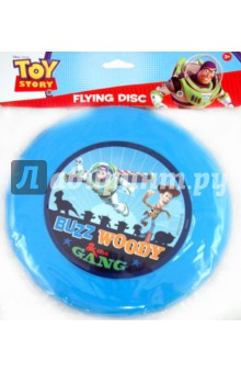 Летающий диск История игрушек (24552)Игры для активного отдыха<br>Одна из самых популярных активных игр в мире - фрисби (игра с летающим диском), теперь с главными героями мультфильмов студии Дисней. Играть можно на любых открытых пространствах в любое время года. Игра развивает ловкость, точность, координацию и мышление. Для игры вы можете приобрести летающий диск с изображением героев мультфильма История игрушек. <br>Диаметр диска - 23 см. <br>Материал - пластмасса. <br>Предназначено для детей старше 3-х лет.<br>Сделано в Китае.<br>