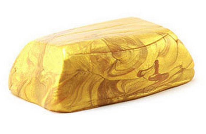 """Иллюстрация 1 из 2 для Нано Пластилин """"METALIK"""" золотой   Лабиринт - игрушки. Источник: Лабиринт"""